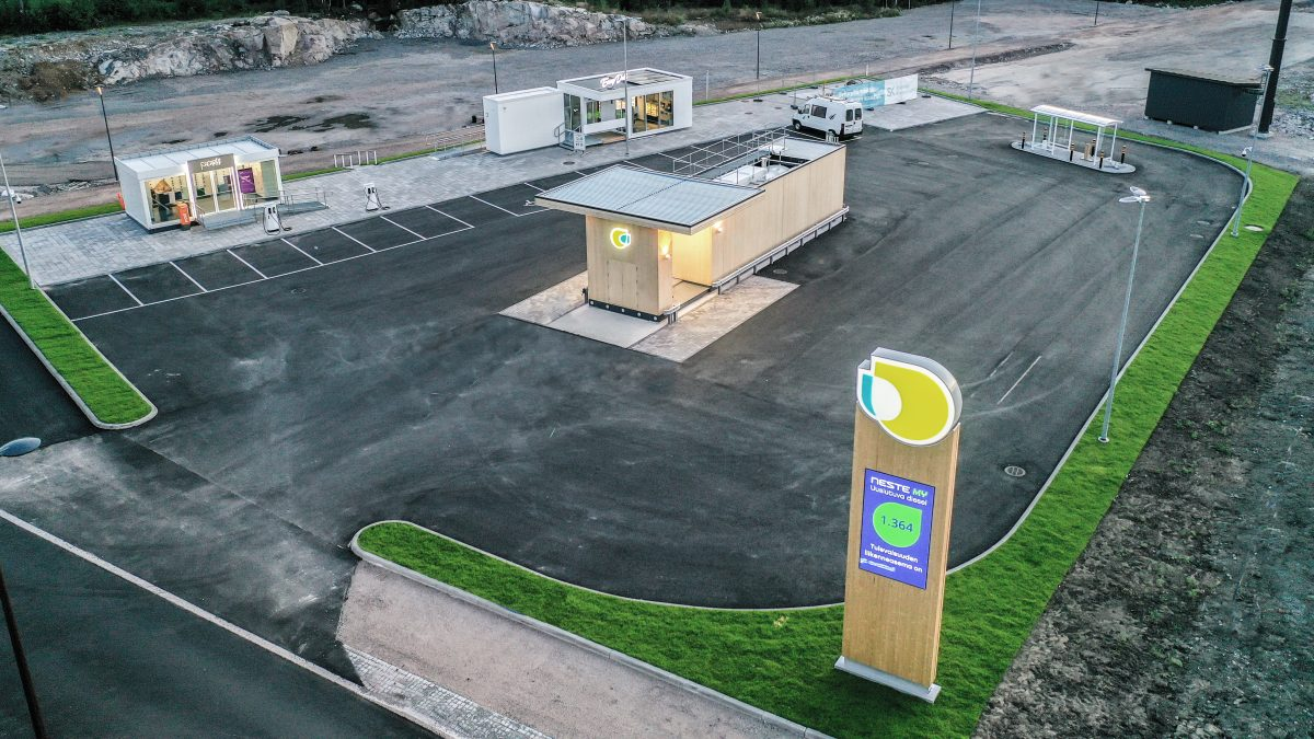 Service Station of the Future